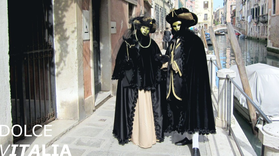 Venezia street during famous carnival