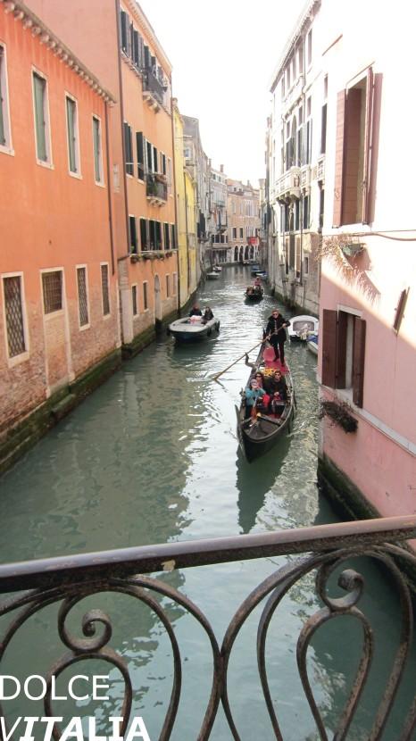 Canal of Venezia with condola