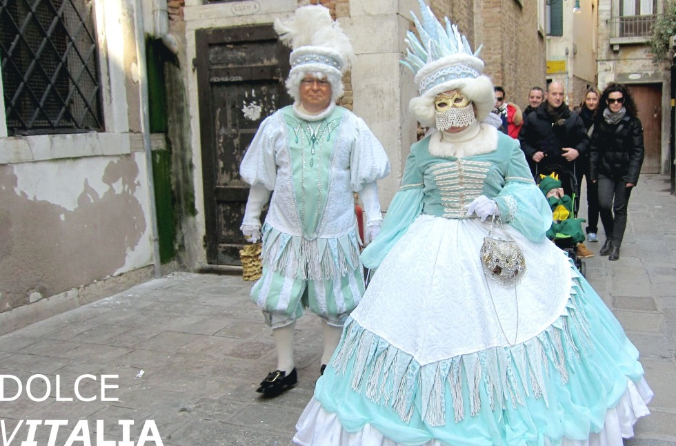 Streets of Veniezia during carnival