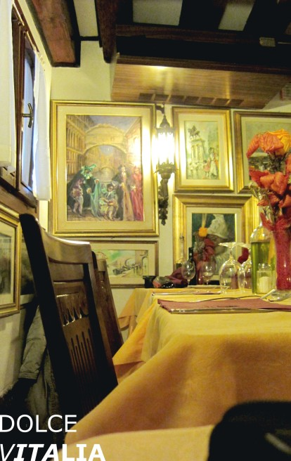 Lovely, cosy and picturesque restaurant in Venezia