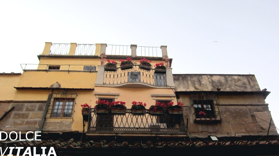 Houses on Ponte Vecchio