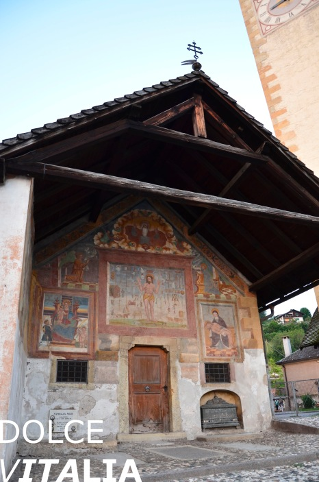 A part of chiesa di S. Eliseo in Tesero