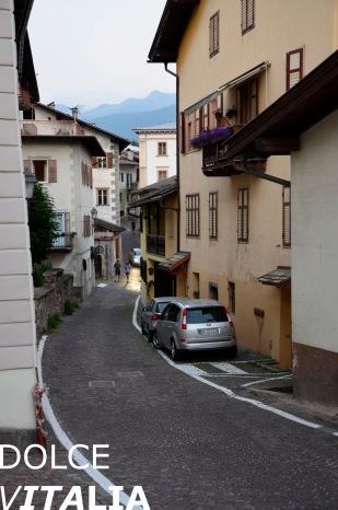 Steep paths of Tesero